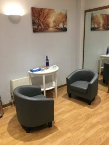 psychotherapy room at christ's hospital horsham